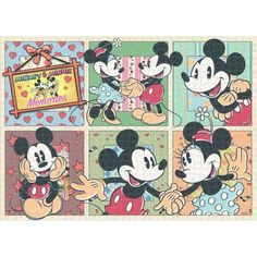 Mickey and Minnie Memorie jigsaw puzzle