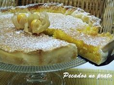 Tart Recipes, Cooking Recipes, Cheesecakes, Cake Piping, Portuguese Recipes, Cupcakes, Mexican Dishes, Desert Recipes, Chocolate
