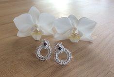 "Ohrstecker ""Namasté"" Namaste, Pearl Earrings, Pearls, Jewelry, Studs, Stones, Pearl Studs, Jewlery, Bijoux"