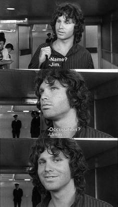 jim opens doors
