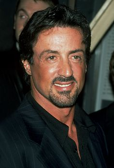 Sly Stallone 1990 | Sylvester Stallone, smile, nice, man