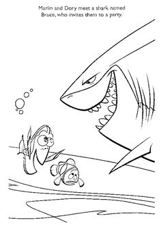 nemo coloring pages images google - photo#20