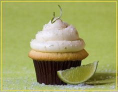 Margarita cupcakes... might adapt into cake balls