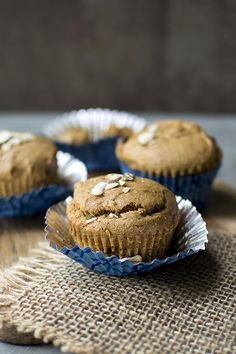 Almond Butter Chocolate Chip Muffins