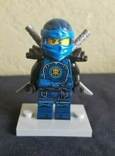 Lego New Jay Knee Pads Ninjago Ninja Blue Minifigure Minifg