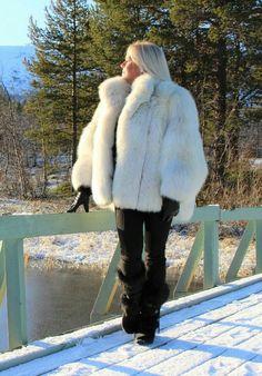 Swedish Fur Goddess