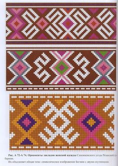 This Pin was discovered by Ele Tapestry Crochet Patterns, Bead Loom Patterns, Crochet Stitches Patterns, Weaving Patterns, Cross Stitch Patterns, Filet Crochet, Crochet Motif, Tapete Floral, Mochila Crochet