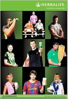 Herbalife sponsors professional athletes who reflect Herbalife's commitment to excellence, health and active lifestyle. Our sponsored athletes use Herbalife® , so why shouldn't you?