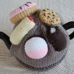 Knitted Cakes tea cosy!  by Hats and More