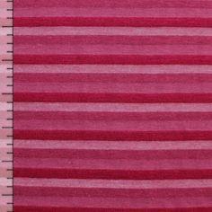 5.50$ Pink Purple Small Multi Stripe Cotton Jersey Knit Fabric