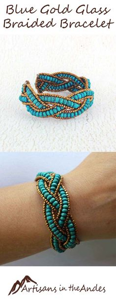 With its casual bohemian style and fair trade ethos, this bracelet will bring you joy every time you wear it