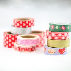 Image of Queen of Hearts Washi Tape