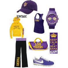 Game Day GEAUX TIGERS