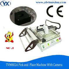 IC Assembly SMT Machine Customizable Chip Mounter Machine TVM802A LED Bulbs Tube Pick and Place Machine
