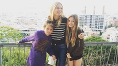 The Goop creator spent her holiday weekend abroad.