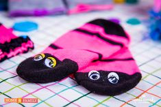 Turn your colorful socks into baby leg-warmers w/ @tmemme28's easy DIY! Catch #HomeAndFamily weekdays at 10/9c on Hallmark Channel!