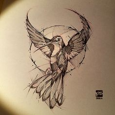 Flying bird artwork Beautiful is part of Flying Birds Metal Wall Art Beautiful Birds For Wall - hummingbird sketch DA psdelux by psdeluxe Hummingbird Sketch, Hummingbird Tattoo, Tattoo Sketches, Tattoo Drawings, Drawing Sketches, Drawing Ideas, Sketch Art, Animal Sketches, Animal Drawings