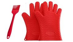 Magic Silicone Glove - Set of Two - Red - Bonus Silicone Brush - Kitchen - Cooking - Baking -Frying - Serving - Stove - Oven - Microwave - BBQ - Protect Hands From Heat - Soft and Flexible - Food Grade Silicone - Easy Clean - Dishwasher Safe Cassandra Dee http://www.amazon.ca/dp/B016SOKKY2/ref=cm_sw_r_pi_dp_ZI5Bwb0WJKAD5