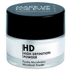 Cult Status: Make Up For Ever HD Microfinish Powder - finely-milled formulation is composed of 100% mineral silica powder to diffuse light and minimize flaws. Plus, it's truly translucent and disappears into skin, so no color matching is necessary.