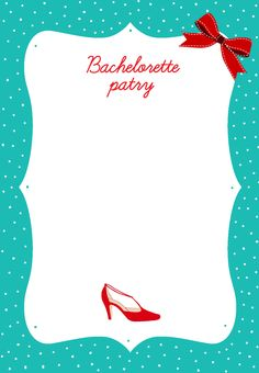 18 Best Free Bachelorette Party Invites Images