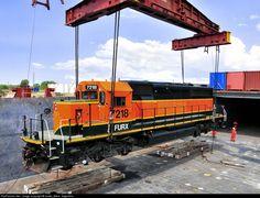 RailPictures.Net Foto: 7218 First Union Rail (FURX) EMD SD40-2 en Buenos Aires, Argentina porción Guido_Beck - Argentina