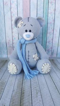 Crochet Stuffed Teddy Bear