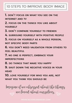 RIP Self Shaming, Hello Posi Vibes - 10 Steps to Improve Body Image & Body Positivity- Positive Mindset / Motivation - Body Positivity, Body Positive Quotes, Positive Body Image, Positive Mindset, Positive Thoughts, Positive Mantras, Positive Art, Love My Body, Loving Your Body