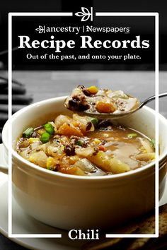 Chilli Recipes, Mexican Food Recipes, Beef Recipes, Soup Recipes, Healthy Recipes, Appetizer Recipes, Recipies, Chowder Soup, Soup And Sandwich