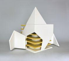 Folding Light (An interactive light sculpture) | michael jantzen | Archinect