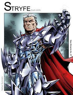 Stryfe - MLF Leader (Marvel Comics) by Nickolas Lane Marvel X, Marvel Heroes, X Men, Excelsior Stan Lee, Mr Sinister, Crazy Toys, Greatest Villains, Thing 1, Dark Lord
