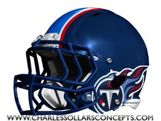 Here is a look at some helmets that fans have designed as Tennessee Titans concept helmets. Titan Helmet, Cool Football Helmets, Nfl, Tennessee Titans, Navy Blue, Concept, Sports, Collection, Birthday Gifts