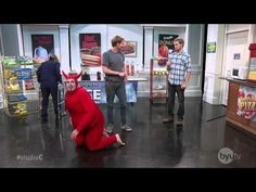 The shoulder devil is harder to carry than an angel.    Watch full episodes of Studio C at http://byutv.org/studioc.
