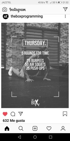 - Healty fitness home cleaning Crossfit Workouts At Home, Wod Workout, Hiit, Conditioning Workouts, I Work Out, Fitness Motivation, Exercise, Kettlebells, Circuits
