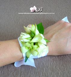 wrist-corsage-orchid-rose by Blossom Wedding Flowers, via Flickr