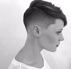 So liberating to have such short hair. I miss mine but I will have short hair again one day...