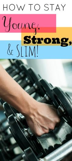The key to keeping age-related weight gain away is to pump a little iron with this strength-training workout!