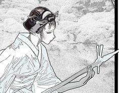 """Check out new work on my @Behance portfolio: """"Geisha, first step"""" http://be.net/gallery/34366927/Geisha-first-step"""