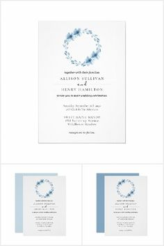 Watercolor Wedding Invitations, Something Blue, Wedding Suits, Party Hats, Special Day, Wedding Ceremony, Art Pieces, Floral Wreath, Kids Shop