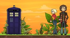 Holly and The Doctor by Elysiann.deviantart.com