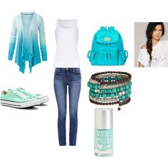 """""""Blue the second"""" by jillianpino18 on Polyvore"""