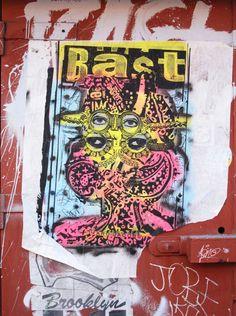 BAST http://www.widewalls.ch/artist/bast/ #graffiti #urban #art #streetart #collage