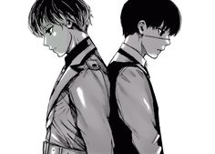 Tokyo Ghoul :re Ishida Sui is an amazing story teller and artist. Just look at all of the subtle changes that Sasaki has compared to Kaneki (not just the hair.)
