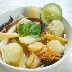 Tekwan, Fishcake Soup, Palembang, Southern Sumatra, Indonesian Food