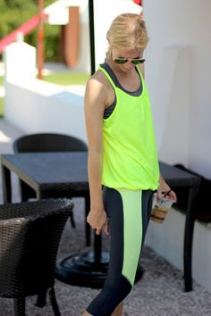 Fitness Fashion: Bright + Bold