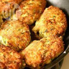 Bolinho de frango fácil @ allrecipes.com.br