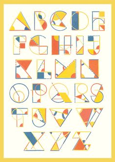 Typeface: Euclid by Chris Thompson #typography