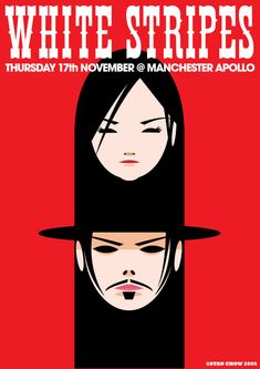 The White Stripes gig poster - I want this
