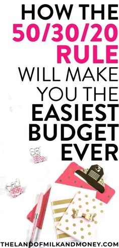 How To Make A Budget Plan? Why The Rule Is What You Need – Finance tips, saving money, budgeting planner Making A Budget, Create A Budget, Making Ideas, Plan Budgétaire, How To Plan, Budgeting Finances, Budgeting Tips, Monthly Expenses, Mon Budget