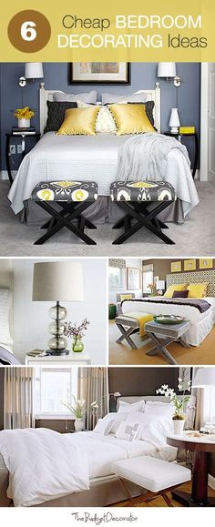 MOMS DECO: Six amazing and affordable bed room ideas that will change the look of your bedroom for no money