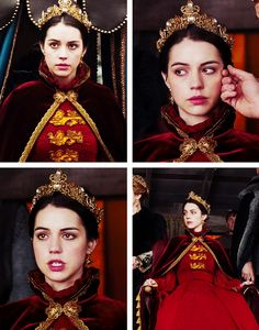 "Mary, Queen of Scots. ""She is the future. They see that."" ~ Reign"
